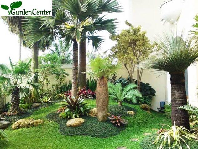 Taman mediterania - Jasa tukang taman surabaya - Garden Center