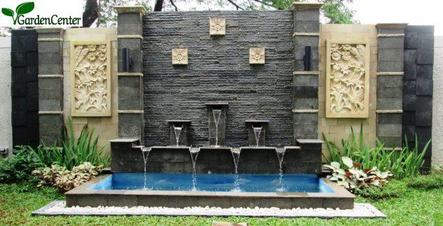 Kolam minimalis - Jasa tukang kolam surabaya - Garden Center
