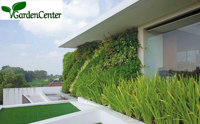 vertical garden atas bangunan
