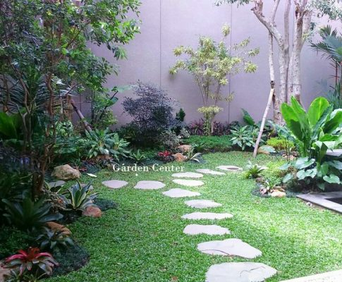 Taman Belakang Rumah Minimalis Modern