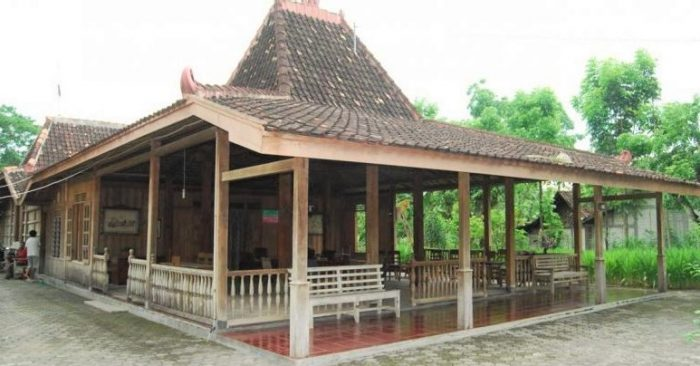 Rumah Adat Jawa Timur Gambar Dan Penjelasan Lengkap