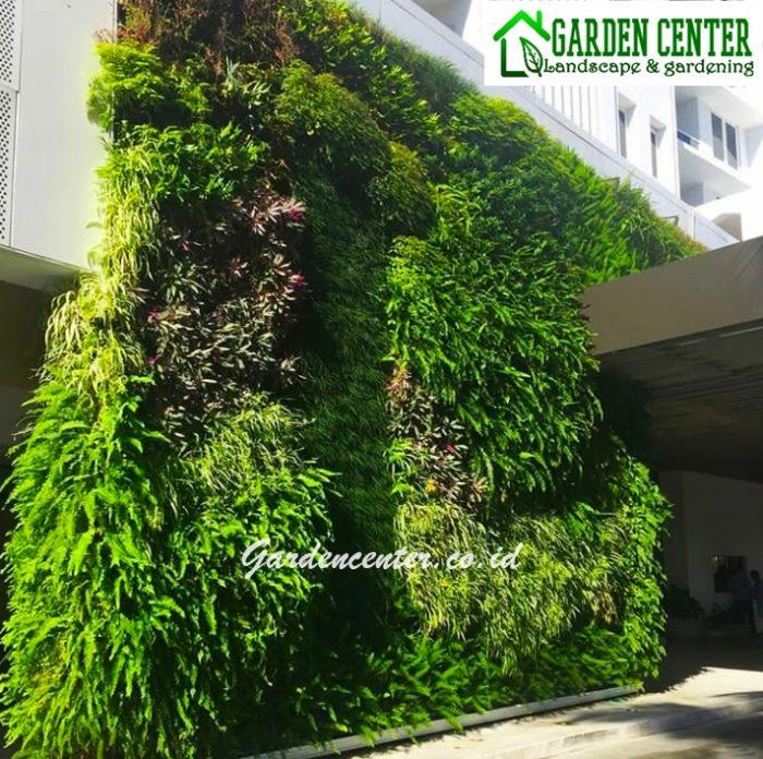 taman vertical di gedung