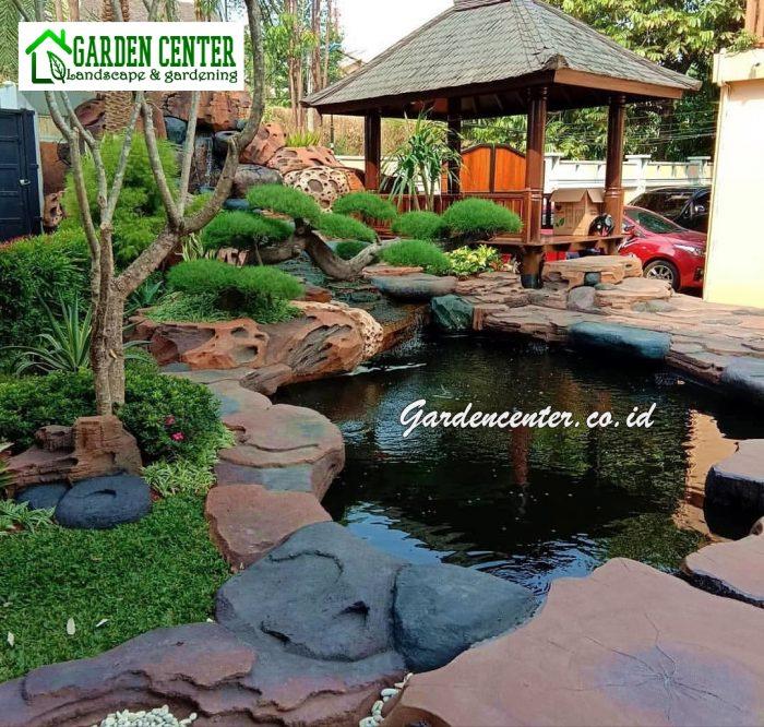 jasa tukang relief taman kolam tebing