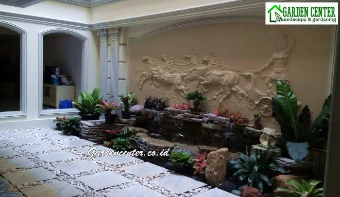 dekorasi relief taman tebing